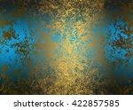 Blue Golden Abstract  ...