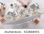 financial concept. make money... | Shutterstock . vector #422868451