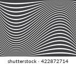 grunge stripe. vector... | Shutterstock .eps vector #422872714