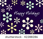 background for new year and for ... | Shutterstock .eps vector #42288286