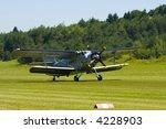 biplane an 2  antonov  in the... | Shutterstock . vector #4228903