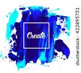 flyer template or invitation... | Shutterstock .eps vector #422895751