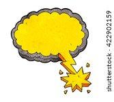 freehand textured cartoon... | Shutterstock .eps vector #422902159