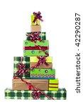 Christmas Tree Made Of Gift...