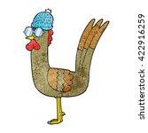 freehand textured cartoon... | Shutterstock .eps vector #422916259