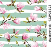 seamless floral pattern....   Shutterstock .eps vector #422938525