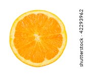 orange in a white background | Shutterstock . vector #42293962