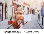 travel guide  tourism in europe ... | Shutterstock . vector #422958991