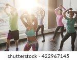 fitness  sport  dance and... | Shutterstock . vector #422967145