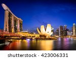 Singapore Skyline  Singapore...