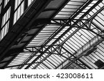 architectural detail of...   Shutterstock . vector #423008611