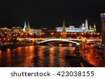 Постер, плакат: Moscow Kremlin at night
