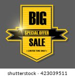 big sale banner design.vector... | Shutterstock .eps vector #423039511