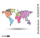 Постер, плакат: Africa Asia Australia Europe