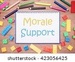 kids and children theme. morale ...   Shutterstock . vector #423056425