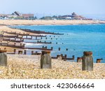 Eastbourne Beach At English...