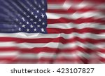 the usa flag    background | Shutterstock . vector #423107827