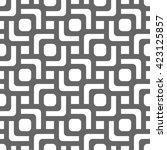 vector seamless texture. modern ... | Shutterstock .eps vector #423125857