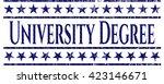 university degree jean or denim ...   Shutterstock .eps vector #423146671