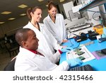 a team of computer technicians... | Shutterstock . vector #42315466