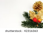 christmas decorations and...   Shutterstock . vector #42316363