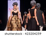 A Model Walks The Runway On Th...