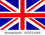great britain flag vector | Shutterstock .eps vector #423211069