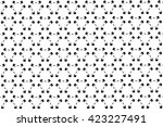the black elements on a white... | Shutterstock . vector #423227491