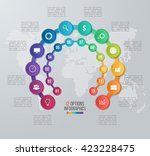 Vector Circle Infographic...