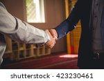 muslim frineds | Shutterstock . vector #423230461
