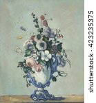 Flowers In A Rococo Vase  By...
