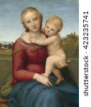 The Small Cowper Madonna  By...