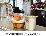 breakfast in a parisian bistro | Shutterstock . vector #42324847