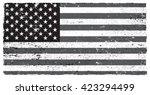grunge flag of usa.vector... | Shutterstock .eps vector #423294499