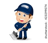people set   profession  ... | Shutterstock .eps vector #423299074