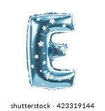 balloon font with stars part... | Shutterstock . vector #423319144