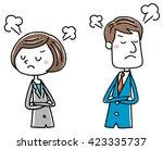 illustration material  female... | Shutterstock .eps vector #423335737