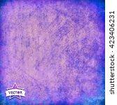 old vintage vector background. | Shutterstock .eps vector #423406231