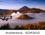 Mount Bromo Volcanoes Taken In...