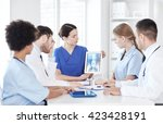 profession  people  surgery ... | Shutterstock . vector #423428191