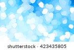 abstract blue creative... | Shutterstock . vector #423435805