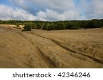sand mine in poland | Shutterstock . vector #42346246