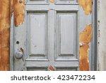 Detail Of An Old Door Handle....