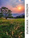 Doi Samer Dao Beautiful Sun Set