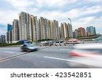 business district center   Shutterstock . vector #423542851