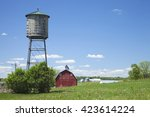 Old Wooden Water Cistern And...