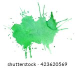 artistik background watercolor. ...   Shutterstock . vector #423620569