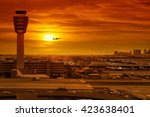 Airport Control Tower And...