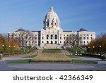 Minnesota State Capitol building - stock photo