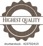 highest quality retro style... | Shutterstock .eps vector #423702415